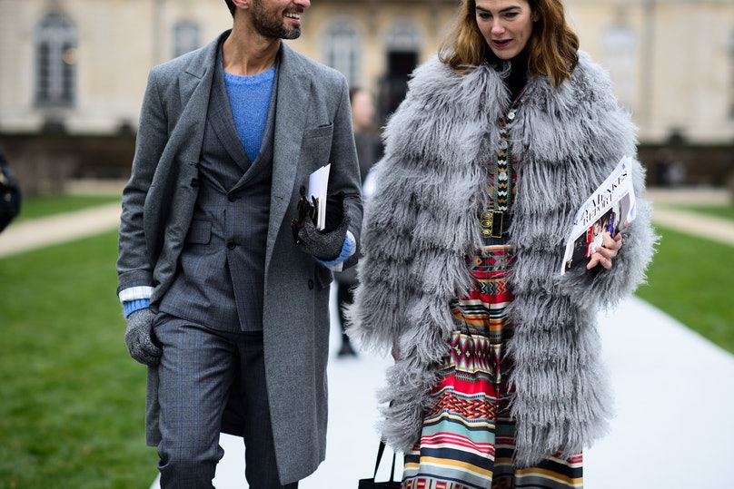 Paris Haute Couture Spring 2015 Street Style Day 1