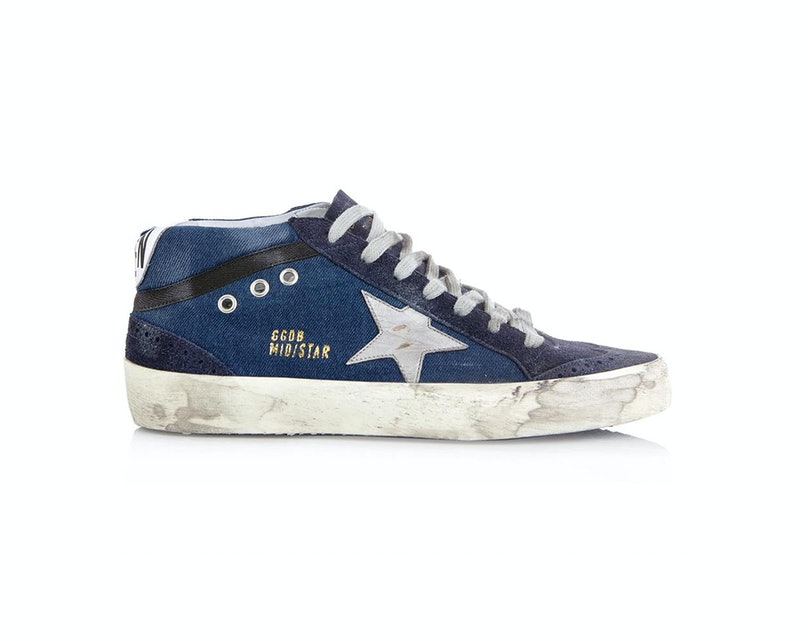 Golden Goose Deluxe Brand denim sneakers