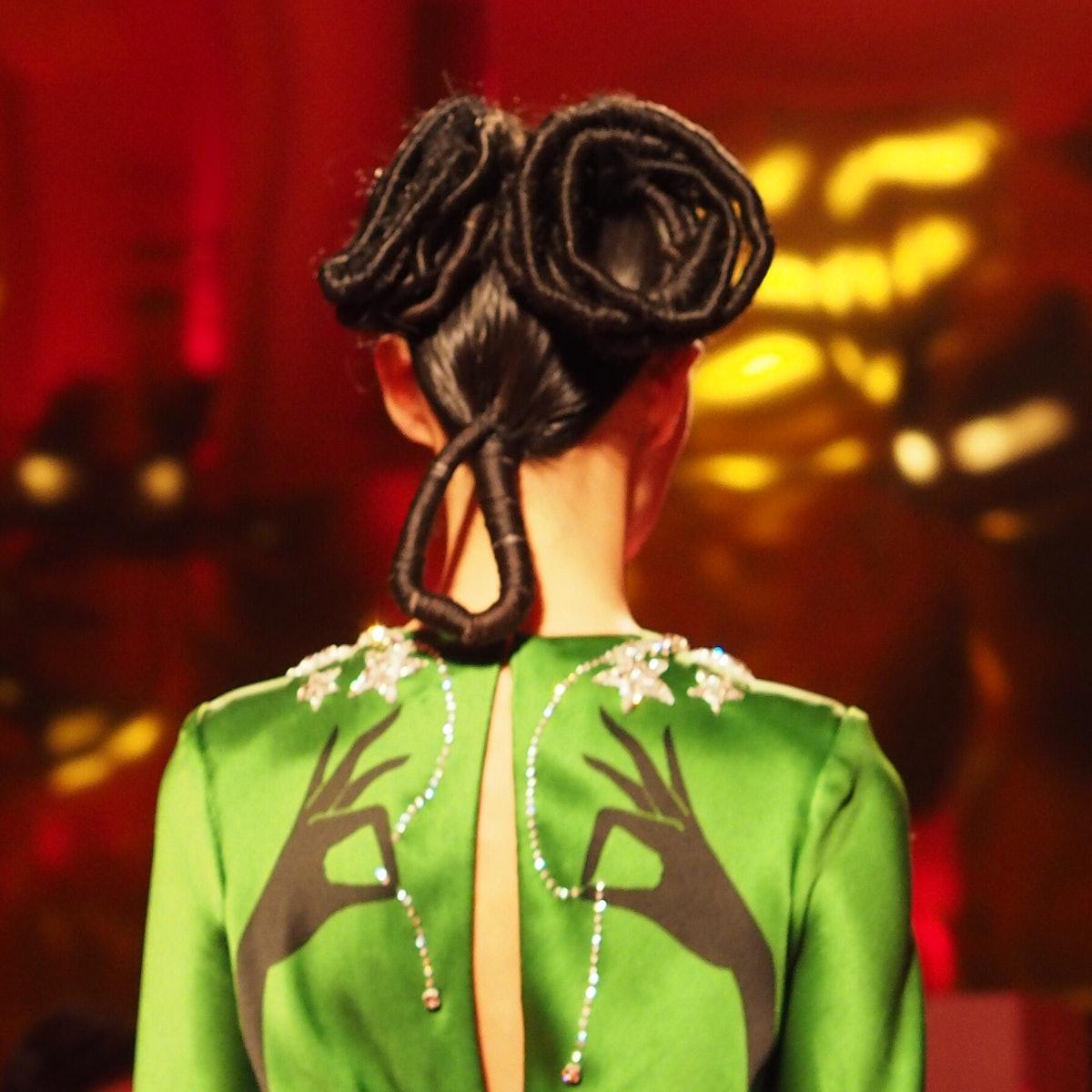 A close-up at the Schiaparelli Spring 2015 Couture show