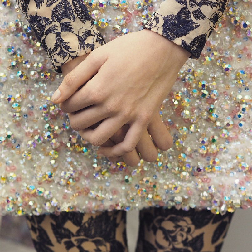 A close-up look at Dior Spring 2015 Couture