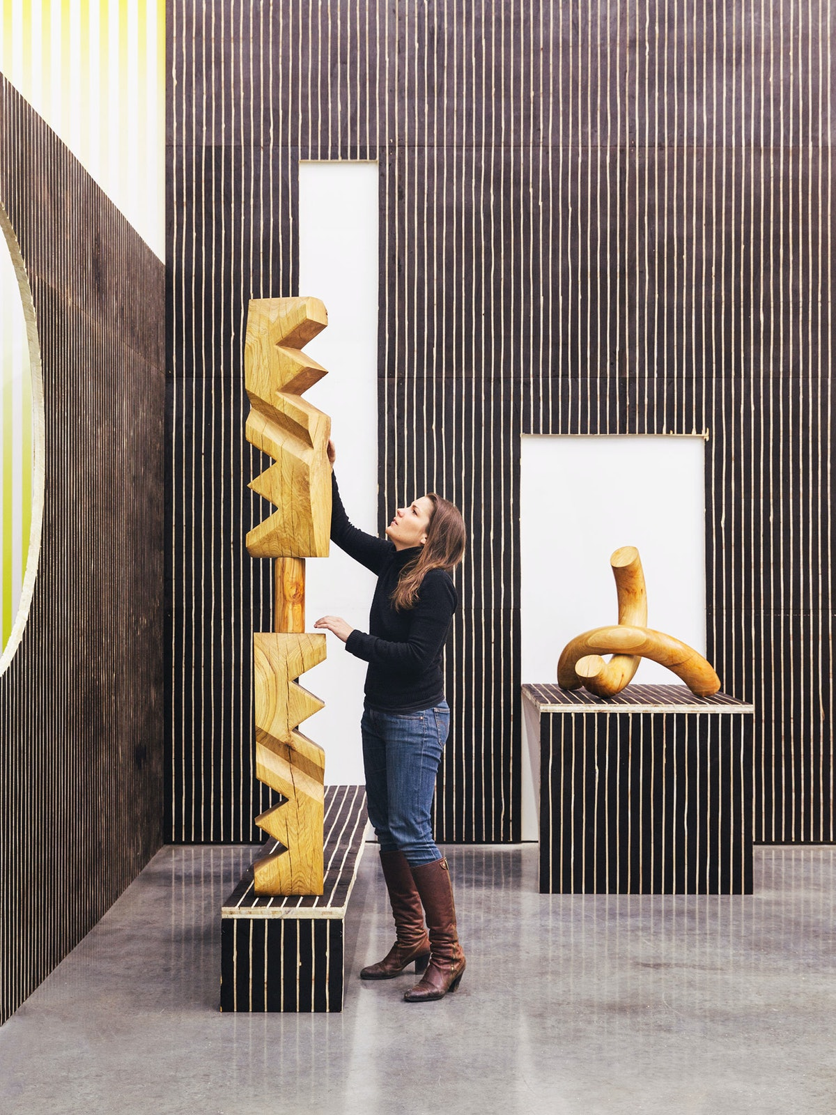 Claudia Comte in Gladstone Gallery