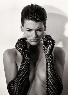 Linda Evangelista, New York City; Vogue Paris June 1989
