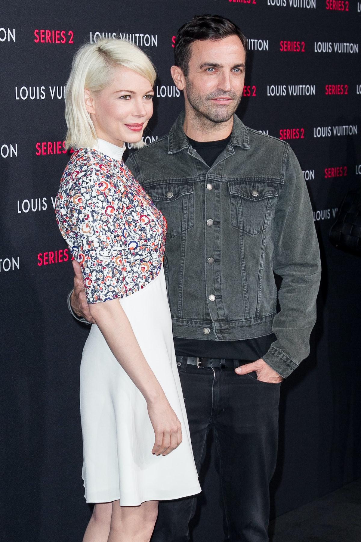 Michelle Williams and Nicolas Ghesquire