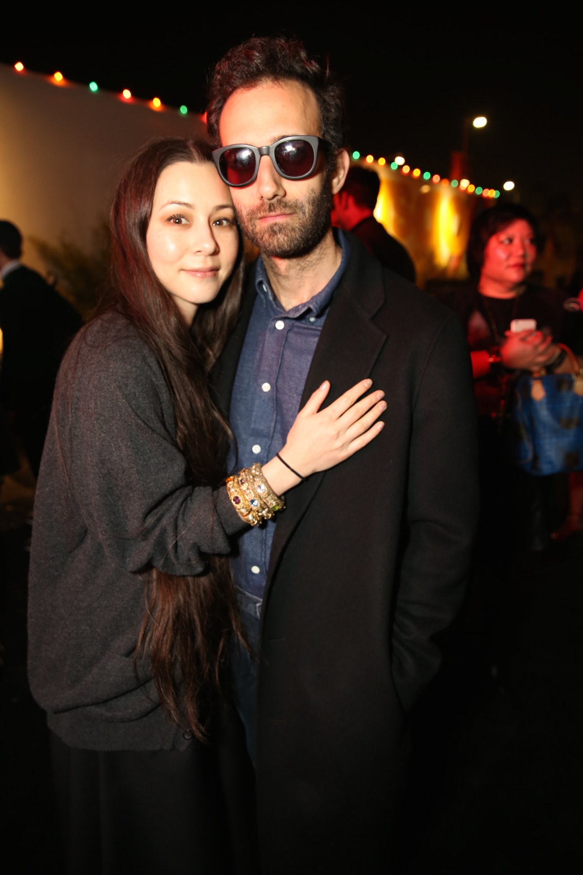 China Chow and Alex Israel