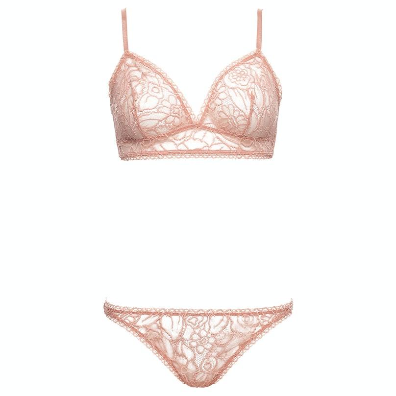 Eres pink pastel bra