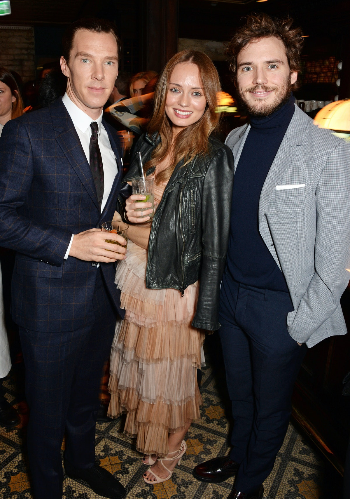 Benedict Cumberbatch, Laura Haddock and Sam Claflin