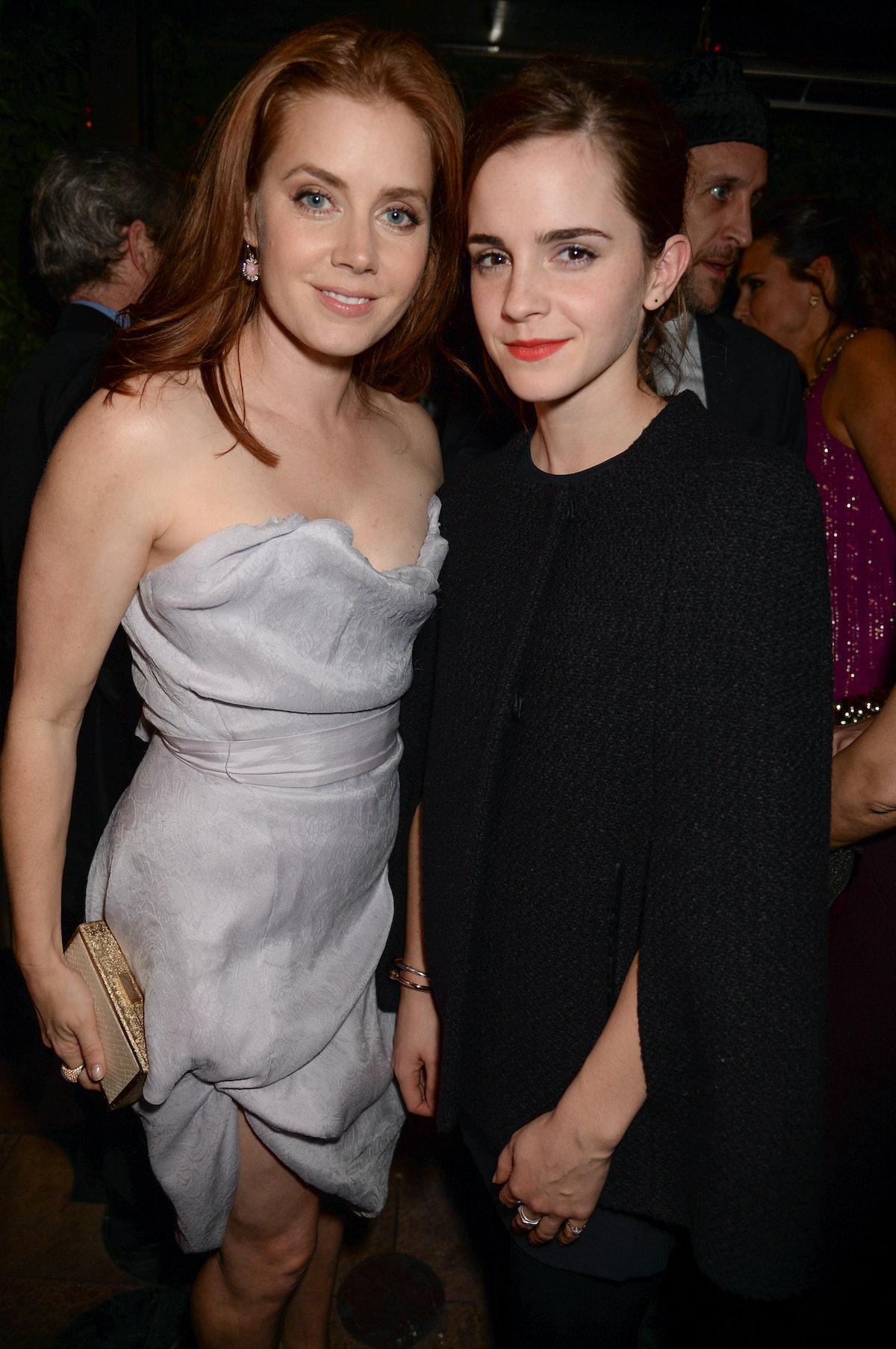 Amy Adams and Emma Watson