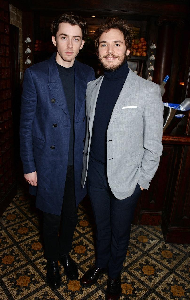 Matthew Beard and Sam Claflin