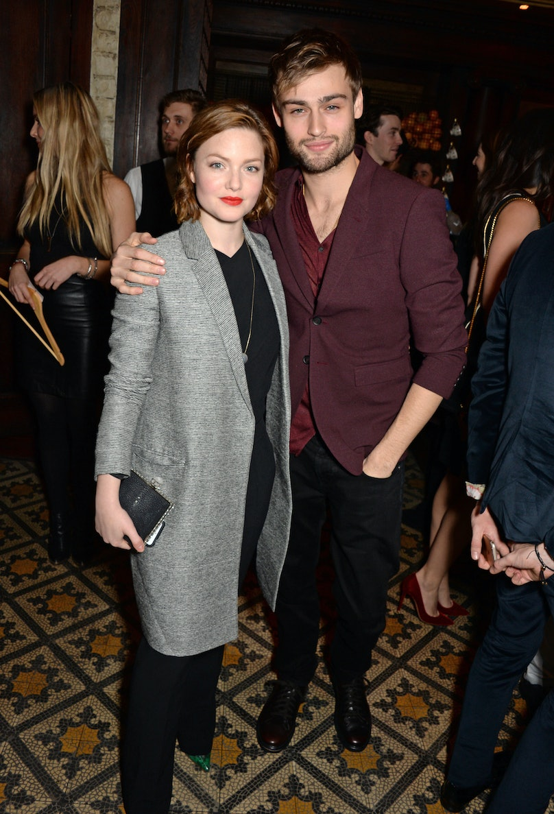 Holliday Grainger and Douglas Booth
