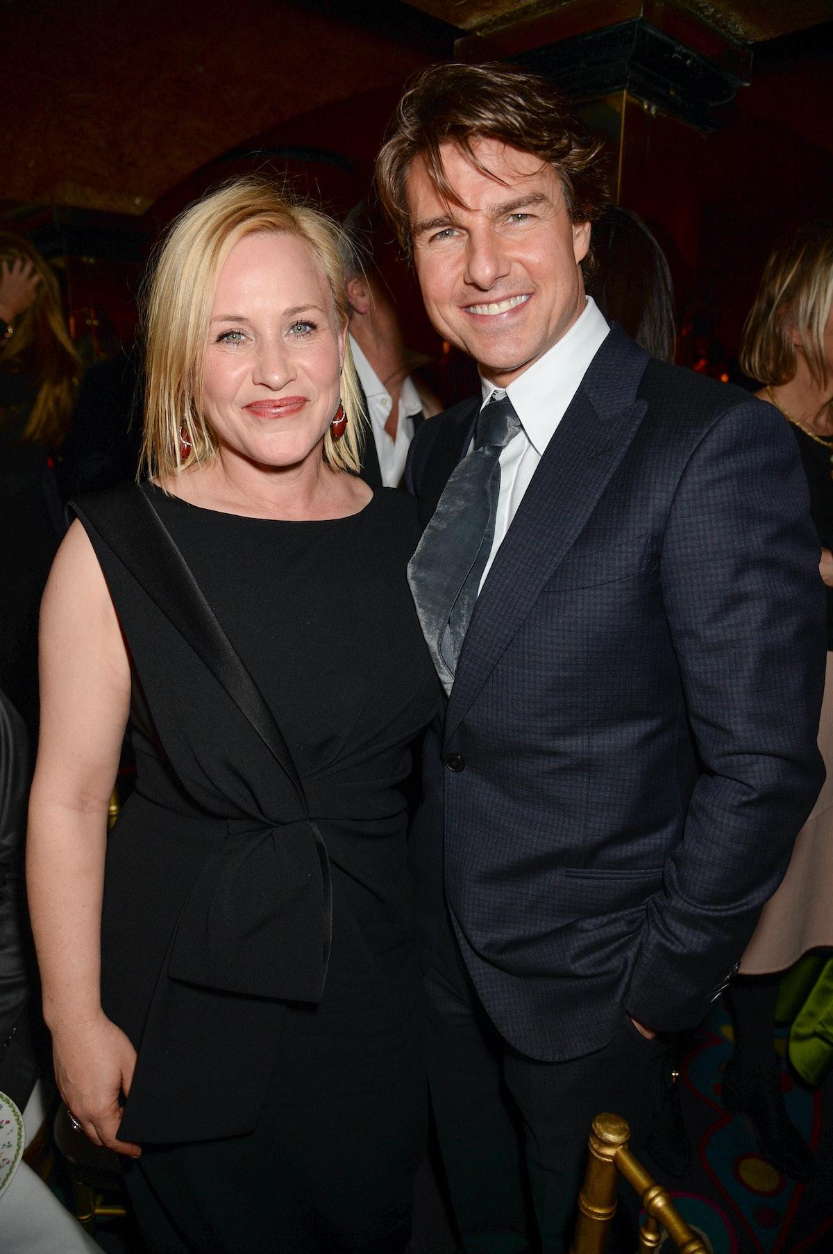 Patricia Arquette and Tom Cruise