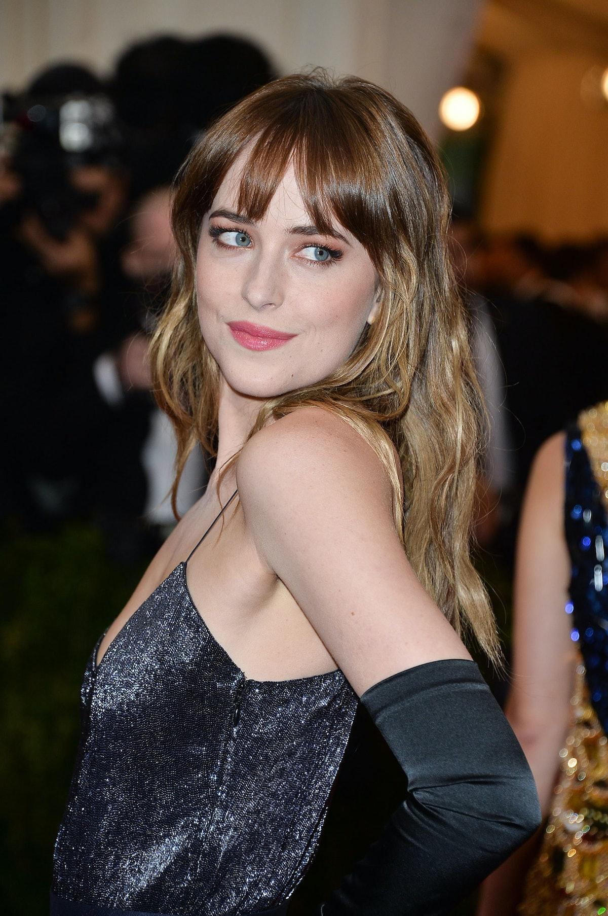 Dakota Johnson at the 2014 Met Gala