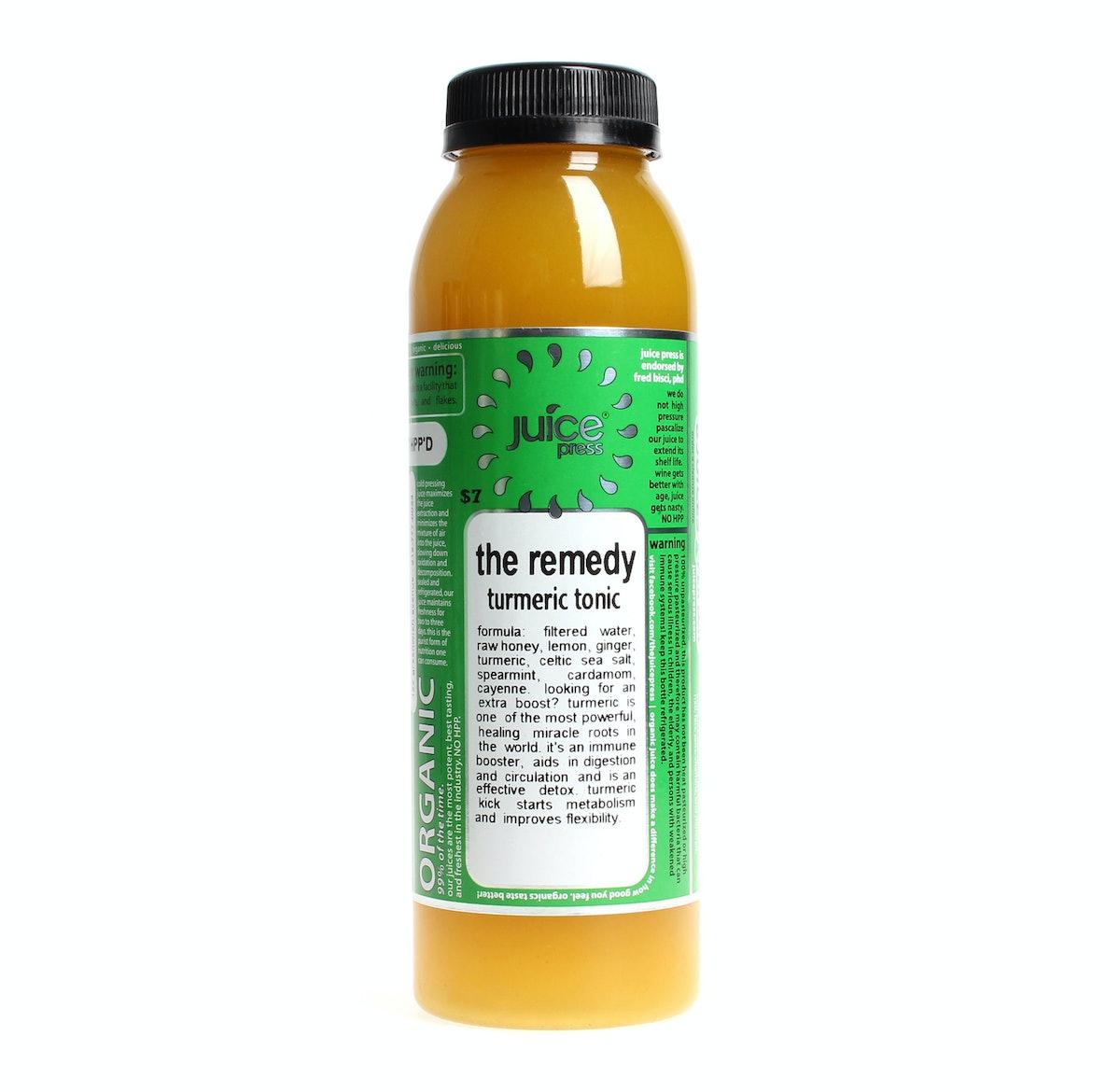 Juice Press The Remedy Turmeric Tonic