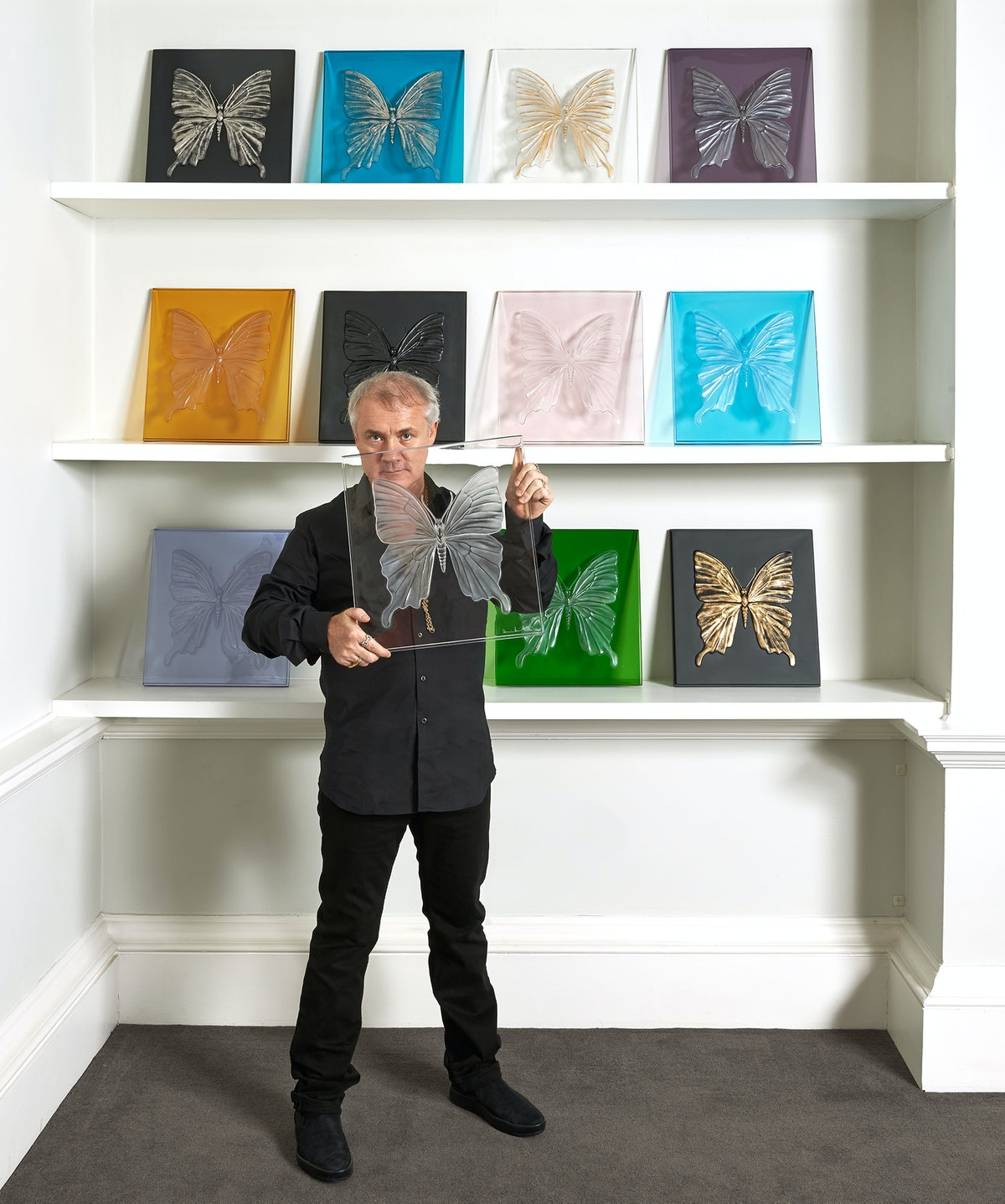 Damien Hirst's Eternal Collection for Lalique