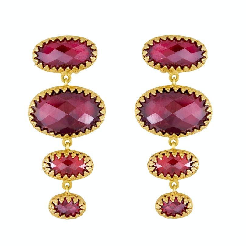 Larkspur & Hawk earrings