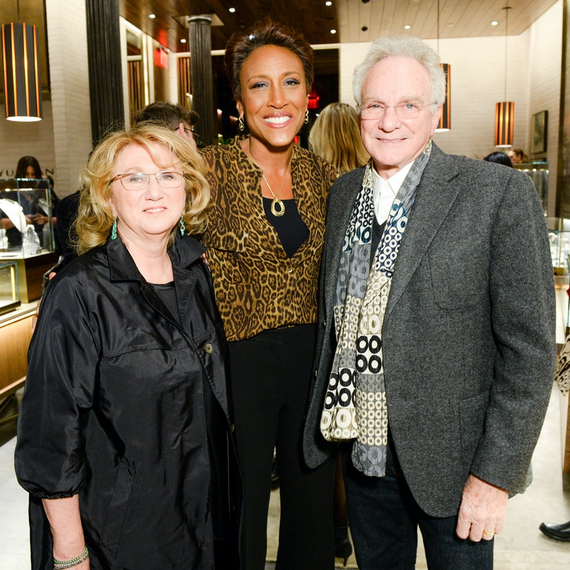 Sybil Yurman, Robin Roberts, and David Yurman