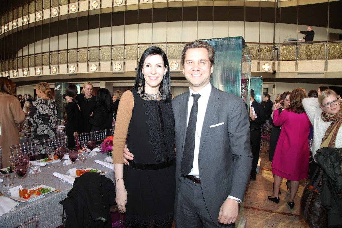 Event co-chair Jill Kargman and Harry Kargman