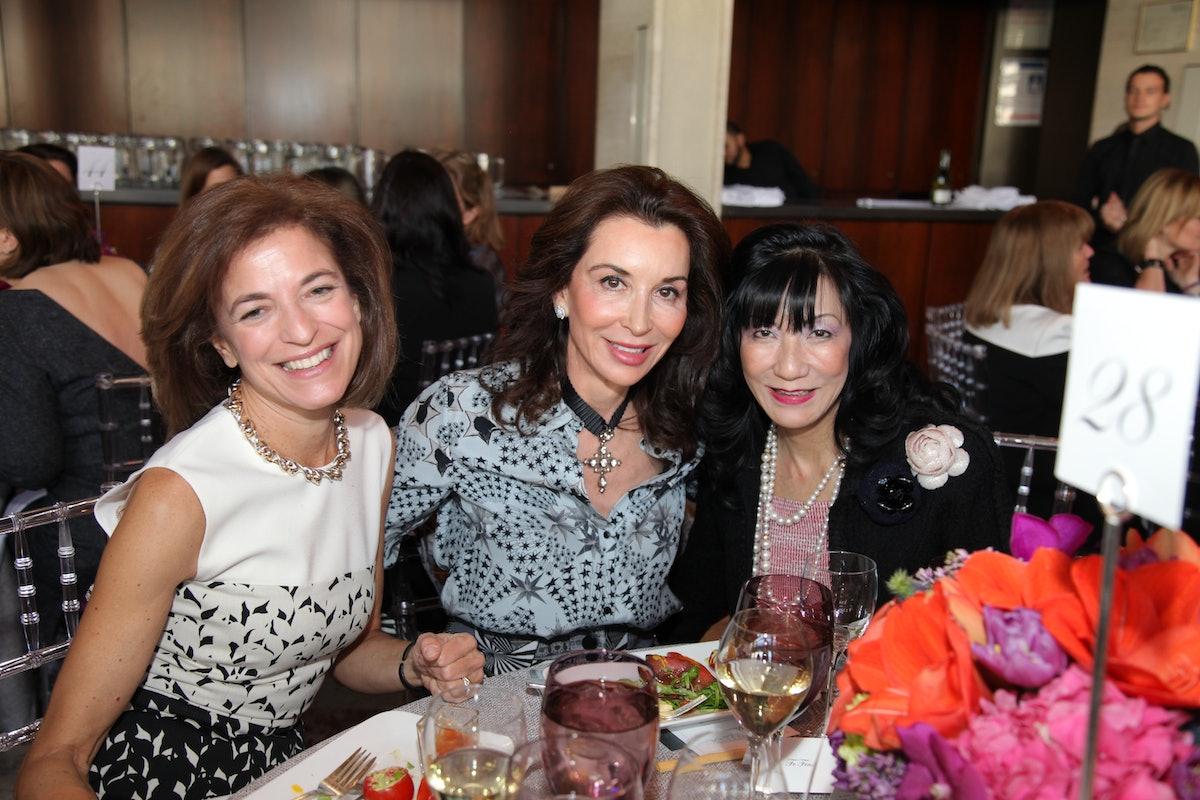 Anne-Marie Embiricos, Fe Fendi, and Patricia Shiah