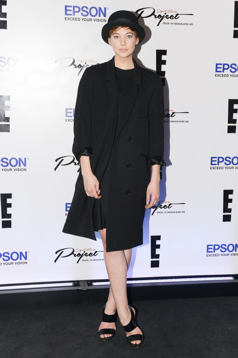 Analeigh Tipton attends the Epson Digital Couture Presentation