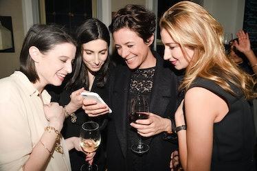 Laura Kosann, Danielle Kosann, Garance Dore, and Lauren Remington Platt