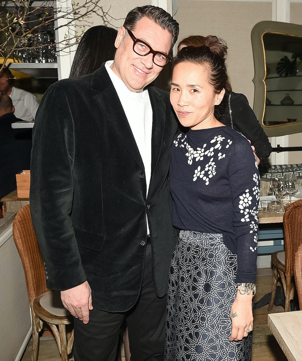 Mark Tritton and Olivia Kim