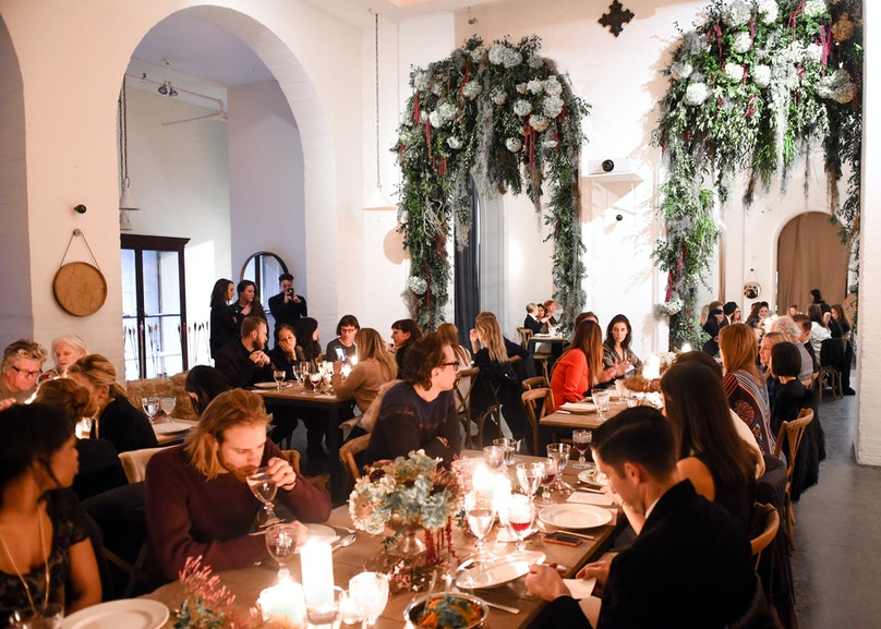 Barneys New York and Padma Lakshmi host a private dinner in honor of Ben Gorham and the launch of Byredo Nécessaire de Voyage. Photo by BFAnyc.com.