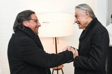 Sante D'Orazio and Joel Schumacher