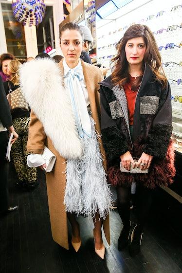 Eleonora Carisi and Valentina Sirigusa