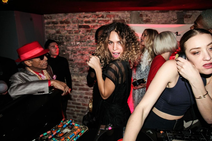 Cleo Wade visits Up & Down during New York Fashion Week