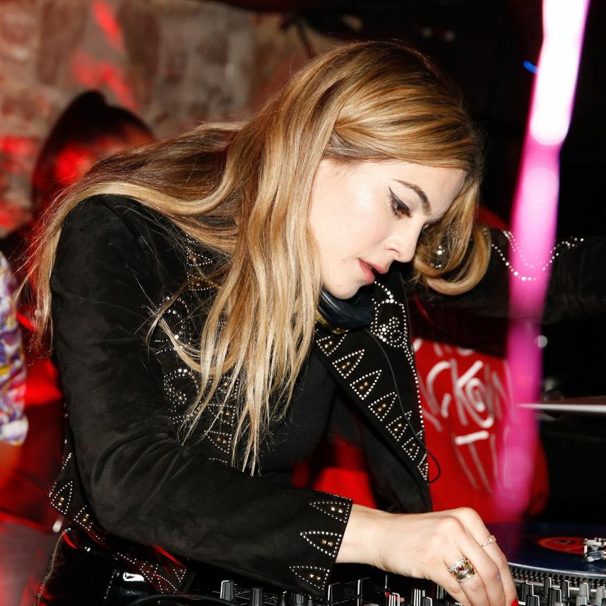 Chelsea Leyland DJs at Up & Down