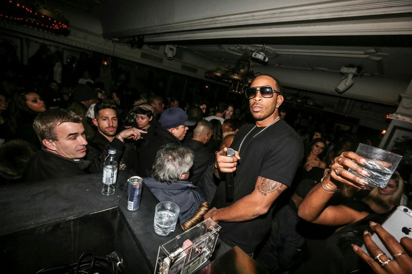 Ludacris attends the Jus Ke and Mark Ronson Surprise Set at Up & Down