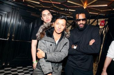 Bach Mai, Prabal Gurung, and Maxwell Osborne