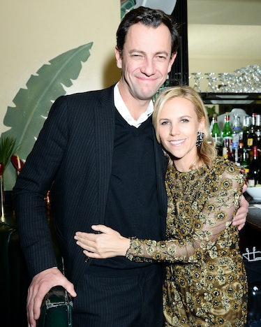 Pierre Yves Roussel and Tory Burch
