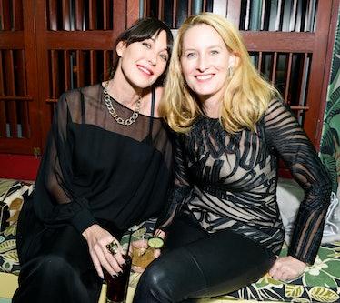 Tamara Mellon and Celerie Kemble