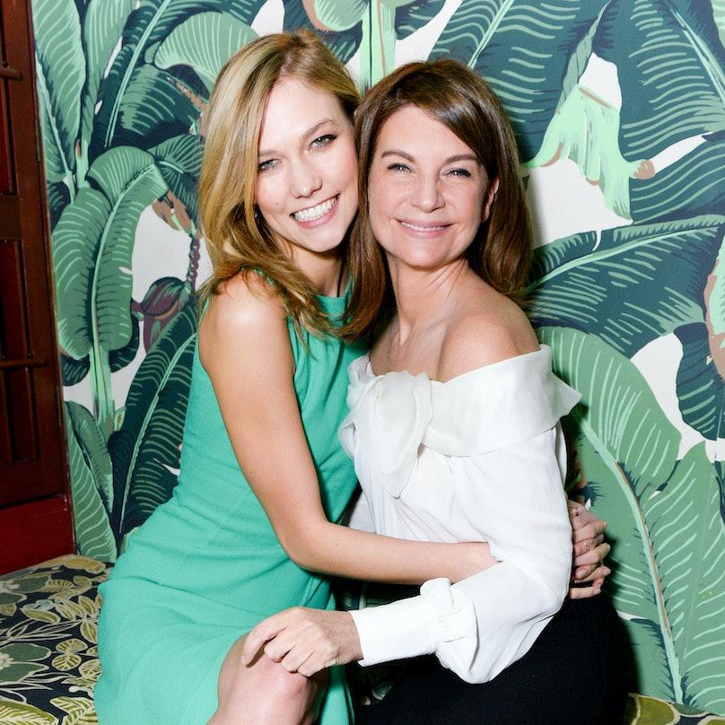 Karlie Kloss and Natalie Massenet