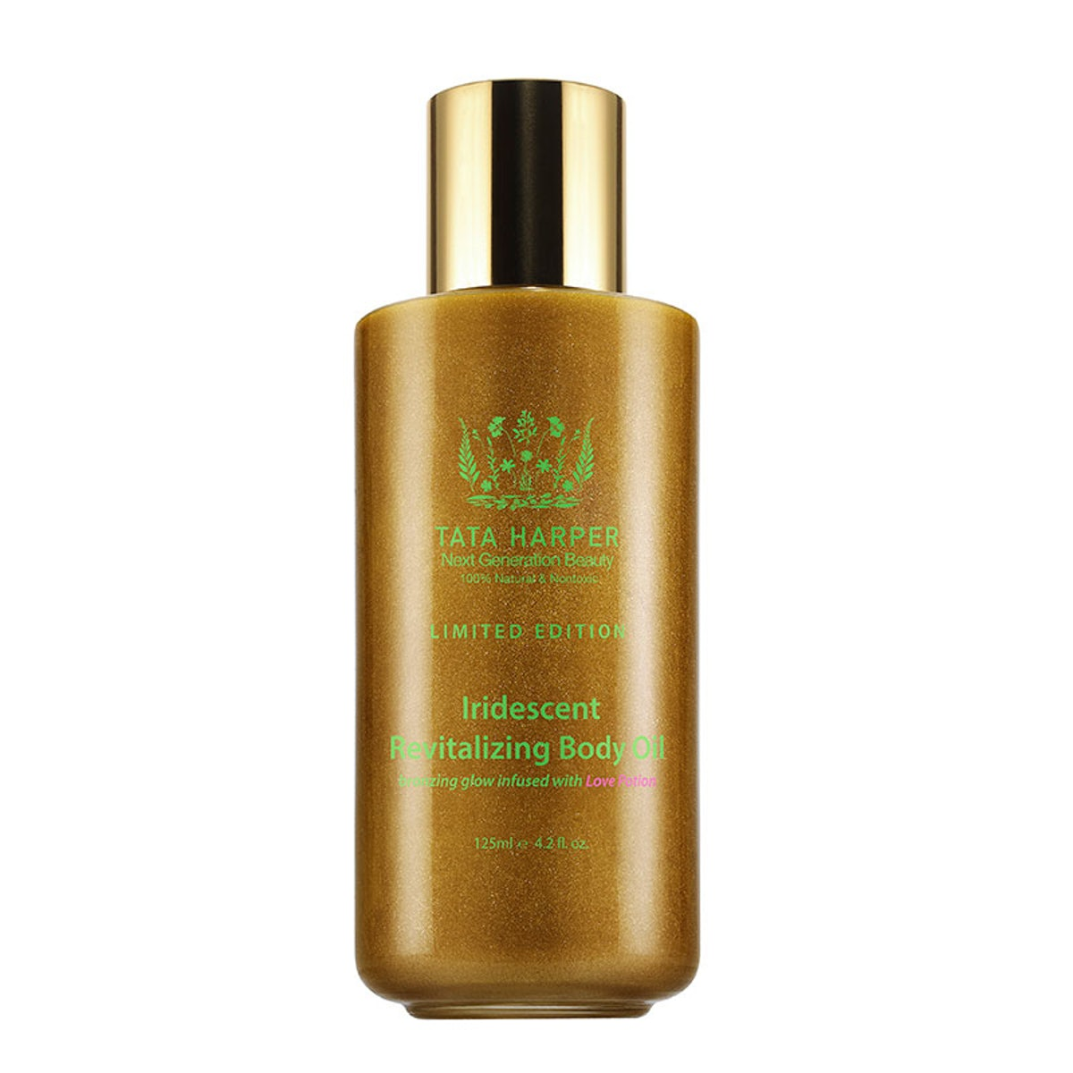 Tata Harper limited-edition love potion iridescent revitalizing body oil