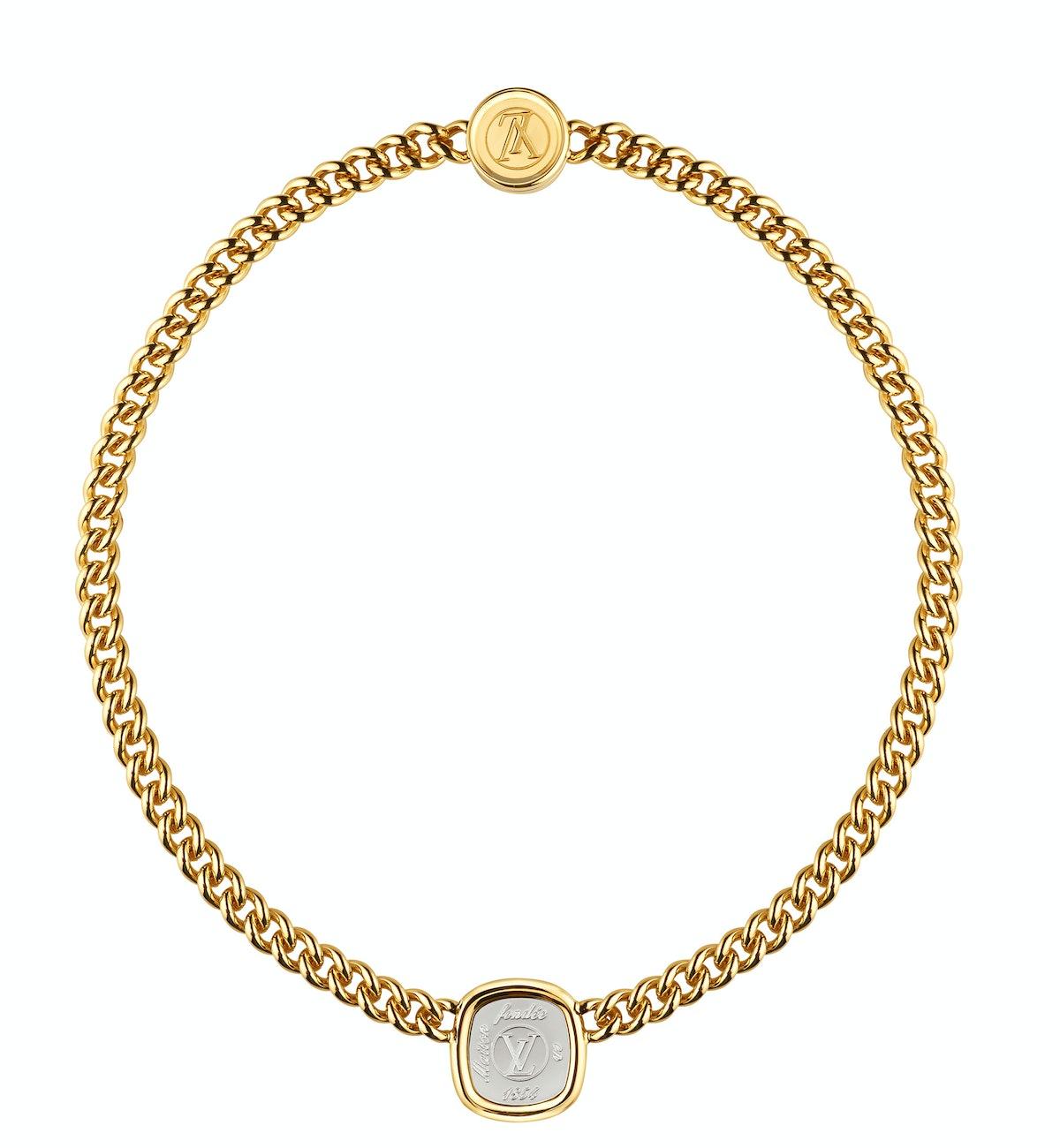 Louis Vuitton necklace,