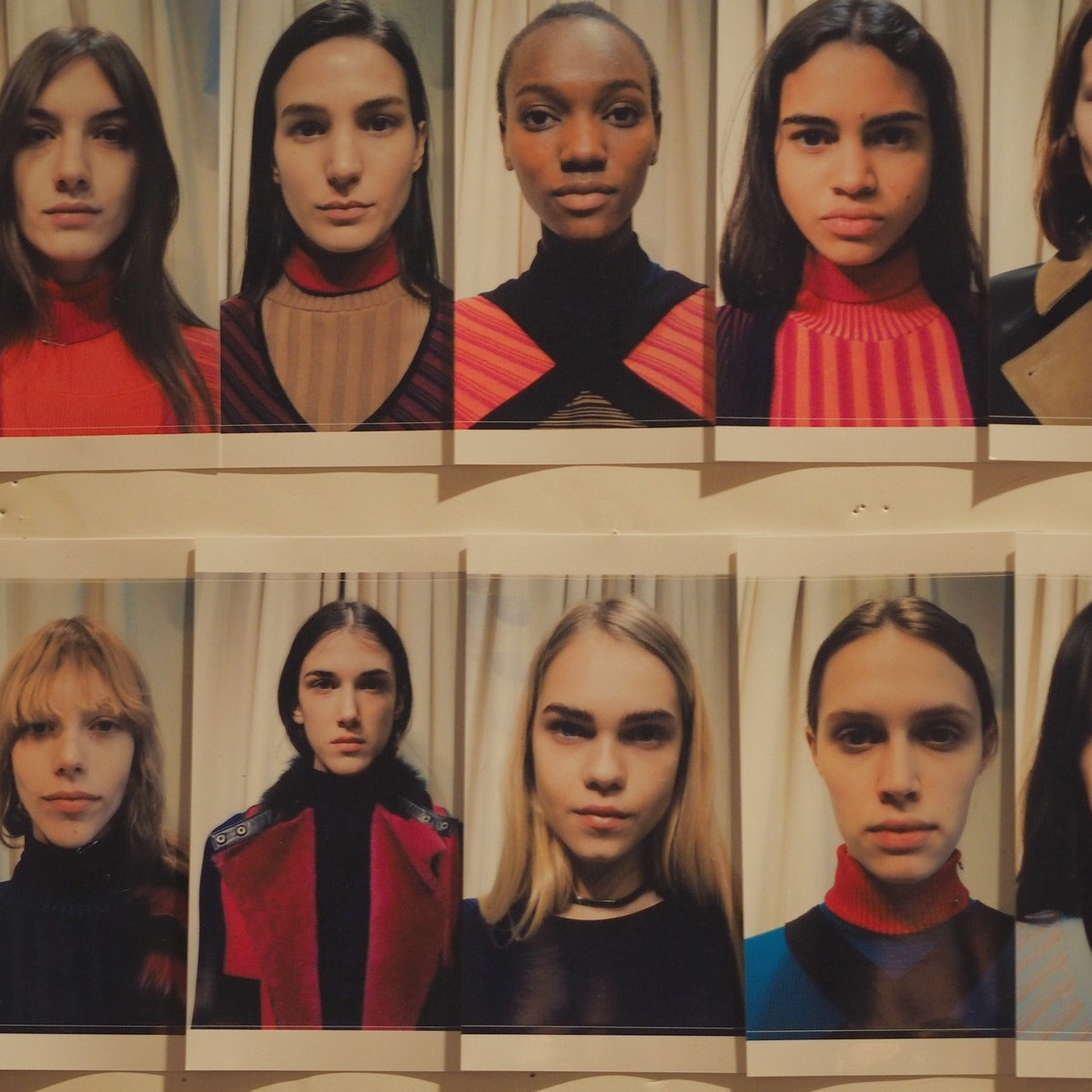 Backstage at Ohne Titel Fall 2015