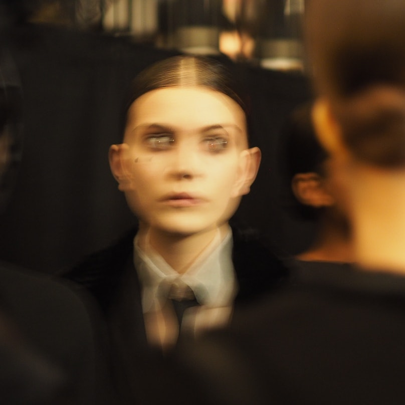 Backstage at New York Fashion Week Fall 2015