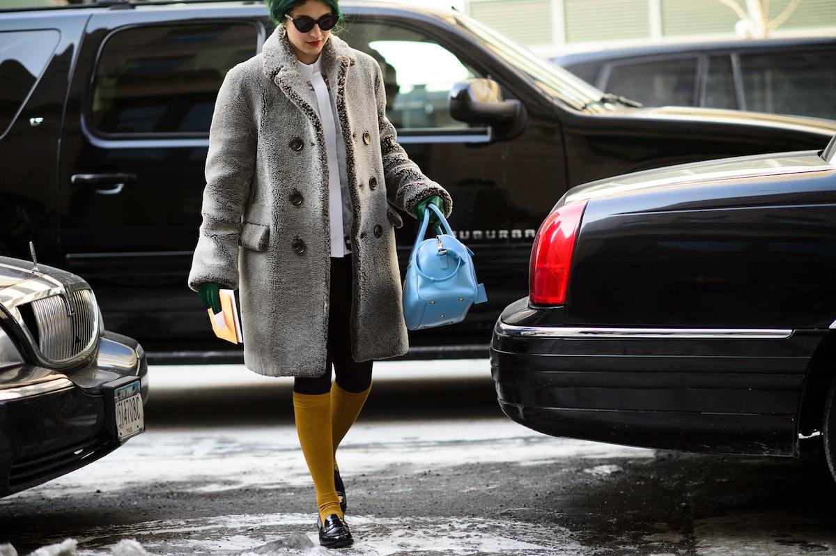 New York Fashion Week Fall 2015 Street Style Day 4