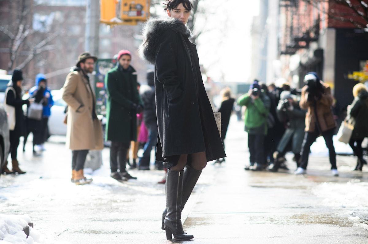 New York Fashion Week Fall 2015 Street Style Day 6
