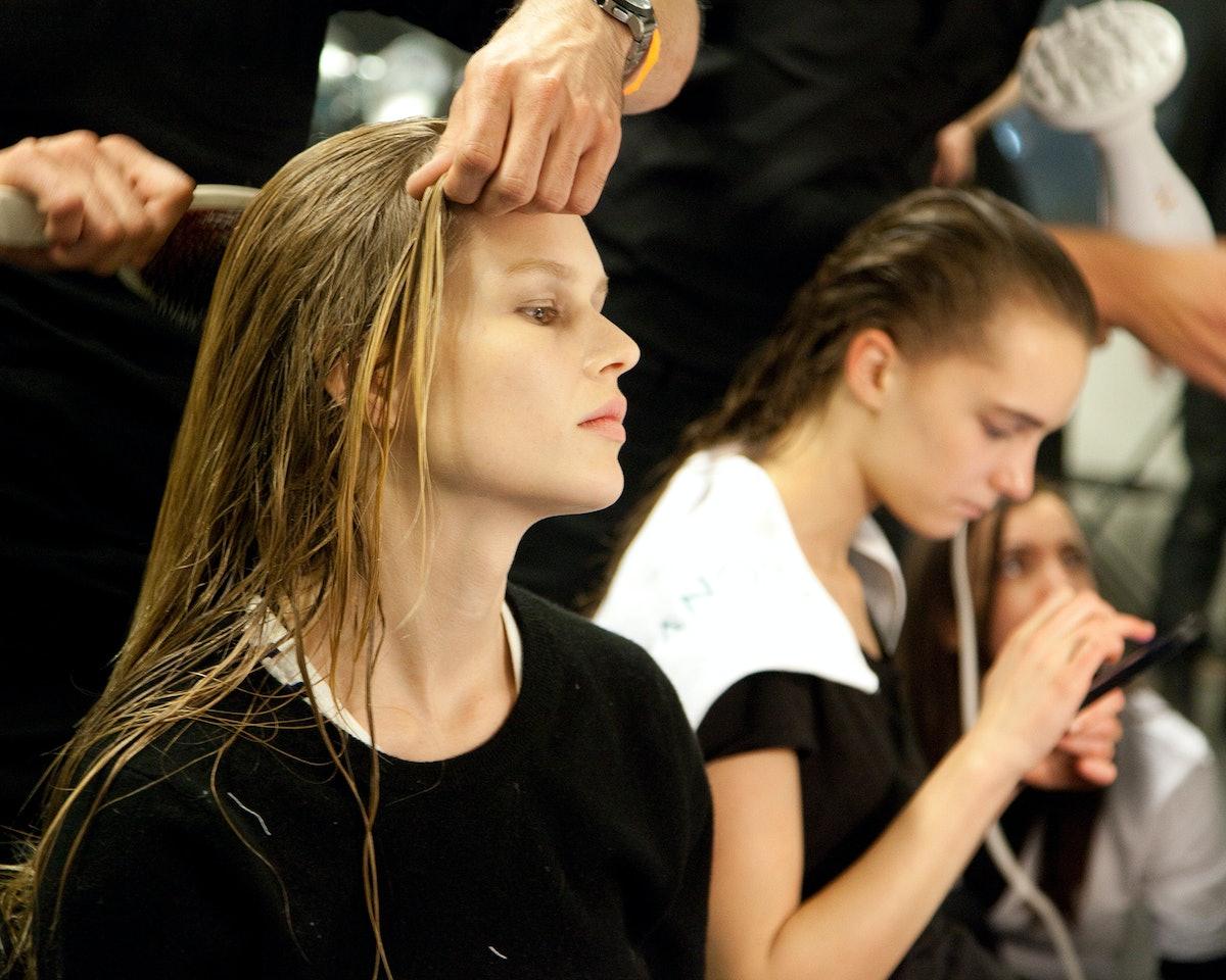 Altuzarra Fall 2015 makeup