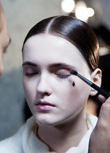 Thom Browne Fall 2015 makeup