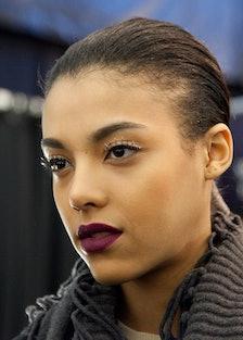 Carolina Herrera Fall 2015 makeup