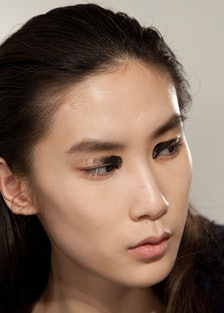 Backstage at Proenza Schouler Fall 2015