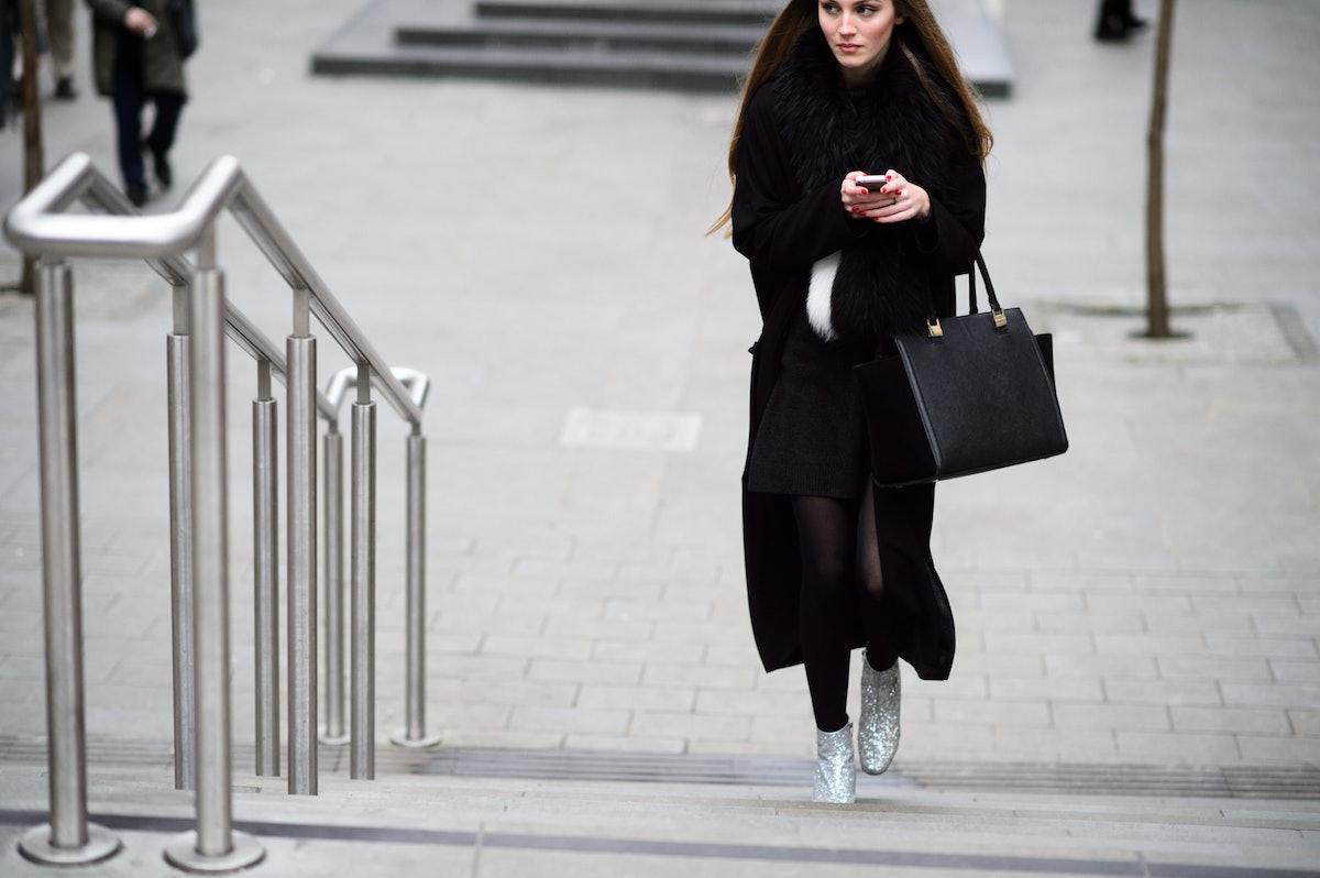 London Fashion Week Fall 2015 Street Style Day 1