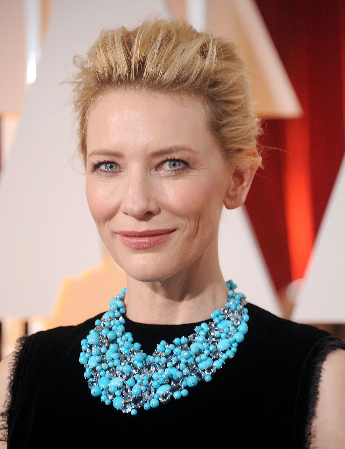Cate Blanchett in a Tiffany & Co. necklace