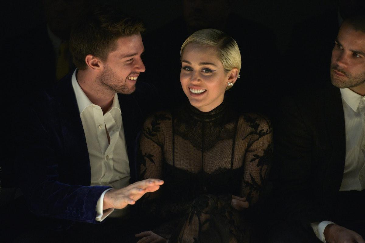 Patrick Schwarzenegger and Miley Cyrus