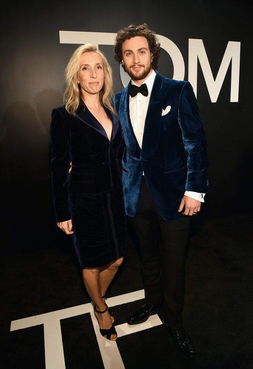 Sam Taylor-Johnson and actor Aaron Taylor-Johnson