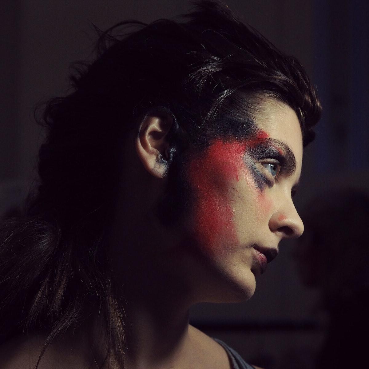 Backstage at Vivienne Westwood Fall 2015