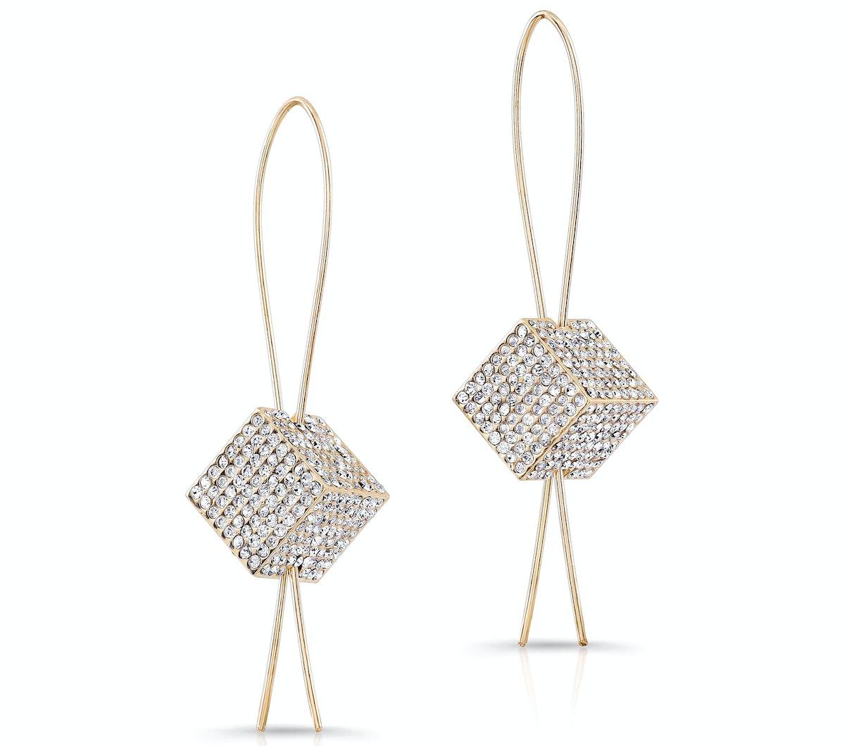 Vita Fede earrings with Swarovski crystals